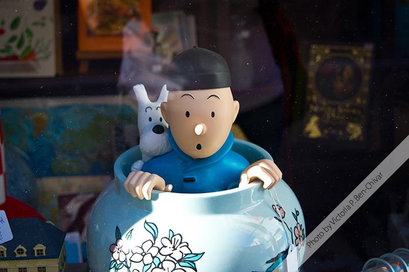 Tintin. Malaga, Spain